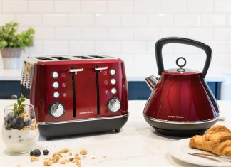 Chaleira Red Pyramid da Morphy Richards