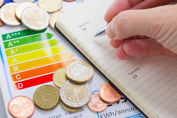 A etiqueta energética atual manter-se-à até 28 de fevereiro de 2021