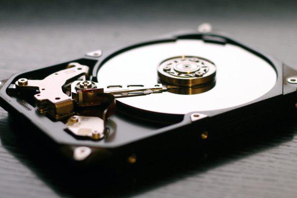 Armazenamento de dados em disco duro