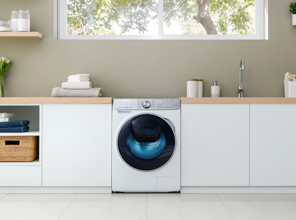 Máquina de lavar roupa QuickDrive da Samsung