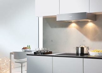 Exaustor Miele numa cozinha moderna