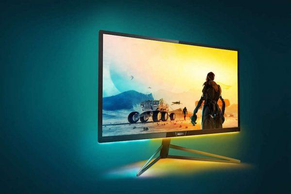 Ecrã Momentum Philips, monitor para jogos