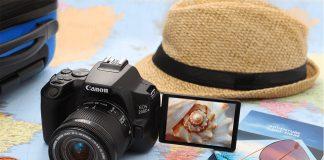 Máquna fotográfica DSLR Canon