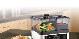 Máquina de cozinhar a vapor Morphy Richards