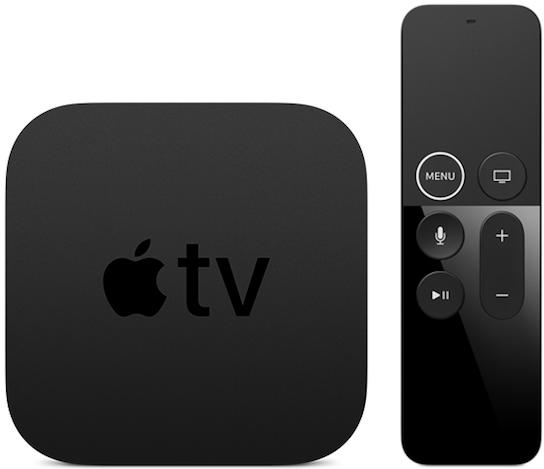 Box e comando da Apple TV+