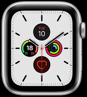 Mostrador de relógio Apple