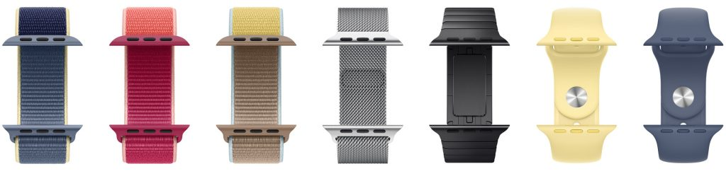 Braceletes variadas para o Apple Watch Serie 5