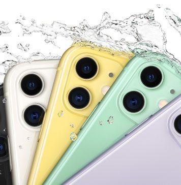 As várias cores do iPhone 11