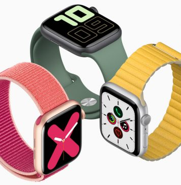3 relógios Apple Watch series 5