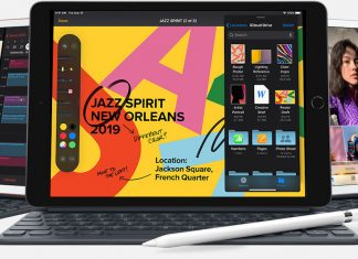 Três modelos do novo iPad da Apple