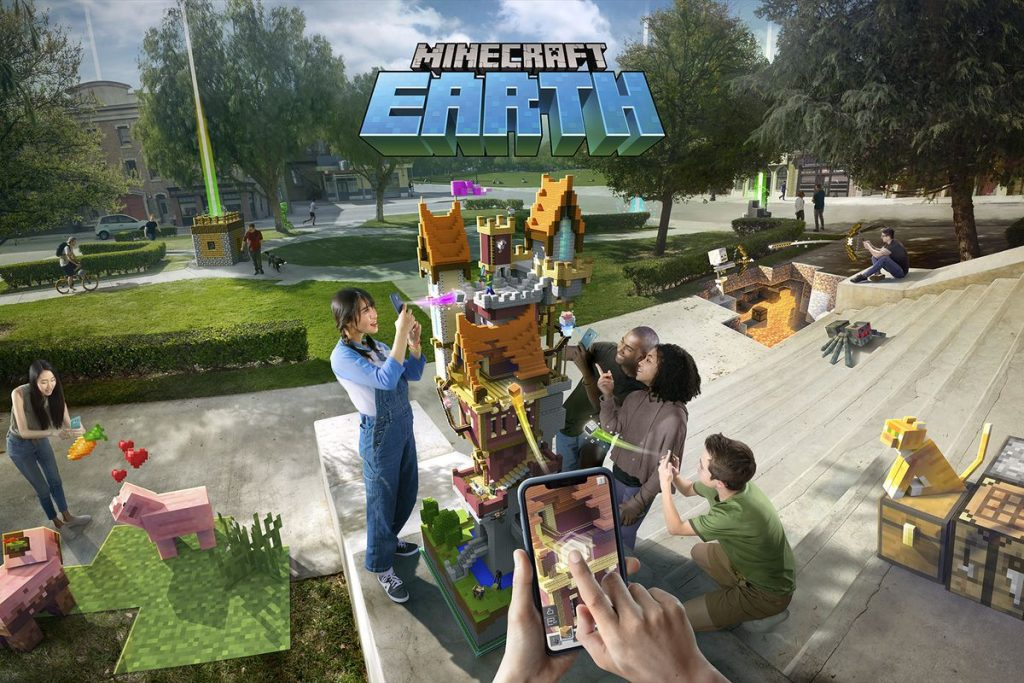 Minecraft Earth / Microsoft