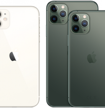 Os três iPhone 11
