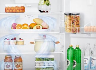 Sistema de Door Cooling dos frigoríficos da LG