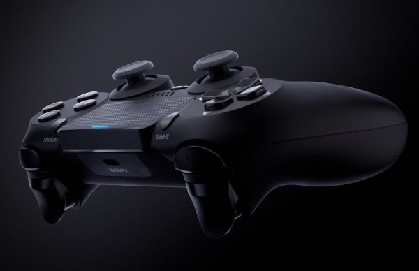 Conceito artístico do novo comando DualShock 5 da Playstation