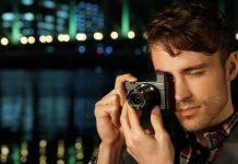 Fotografia com máquina fotográfica Sony