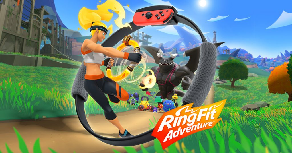 Ring Fit, da Nintendo