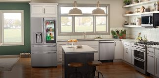 Cozinha do futura da LG