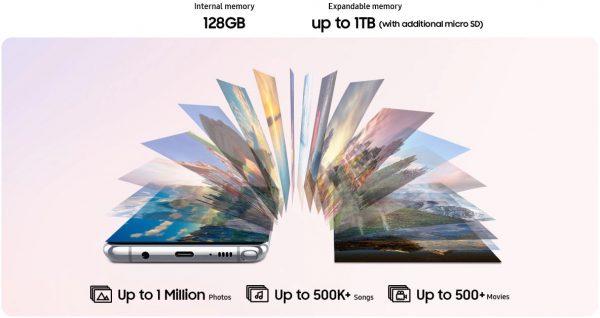 Performance Samsung Galaxy Note10 Lite
