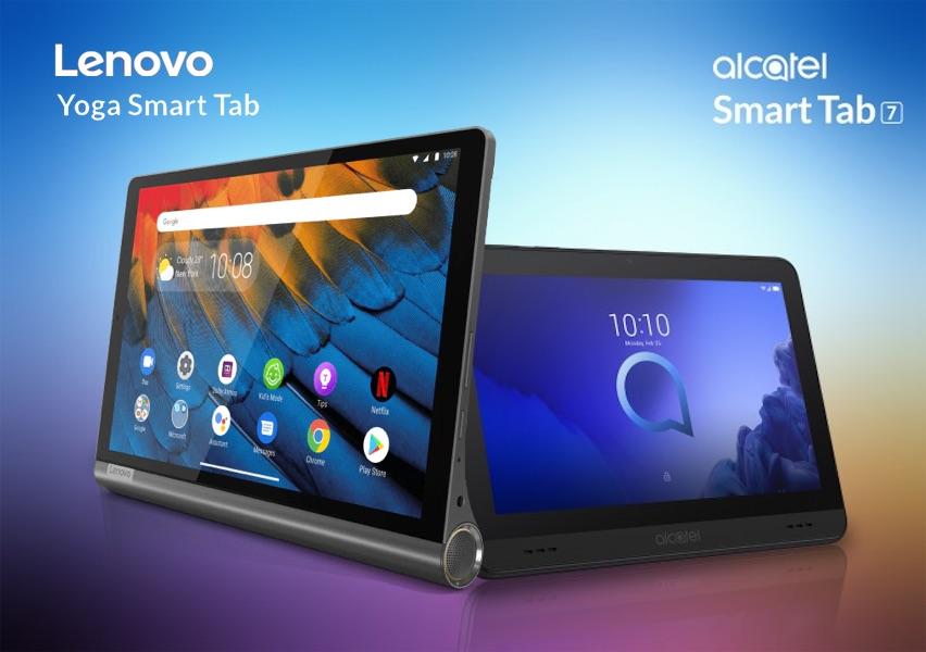 Lenovo Yoga Smart Tab, Alcatel Smart Tab 7