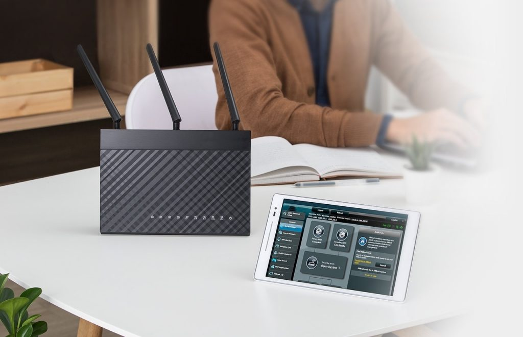 Router e tablet ASUS