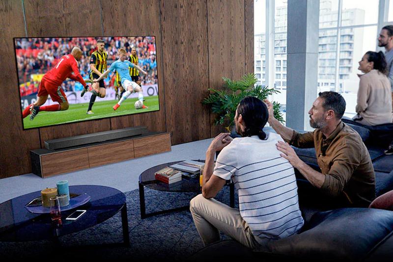 Jogos de futebol com toda a intensidade na sua sala de estar