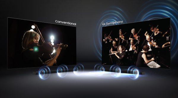 Som excecional da Samsung QLED 2020