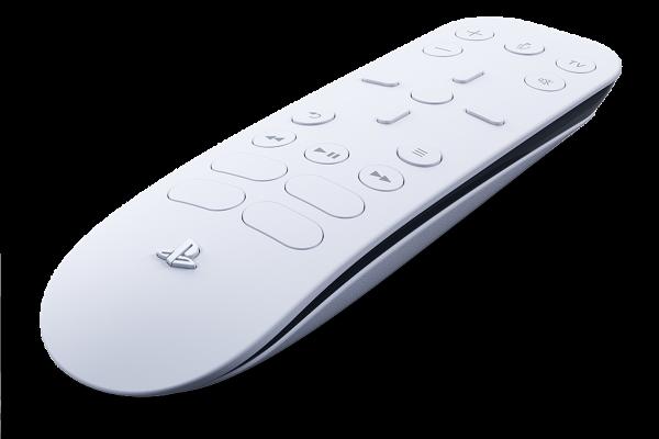 Comando para conteúdo multimédia, um dos acessórios PlayStation 5