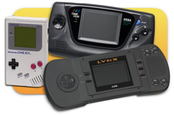 Nintendo Game Boy, Sega Game Gear, Atari Lynx