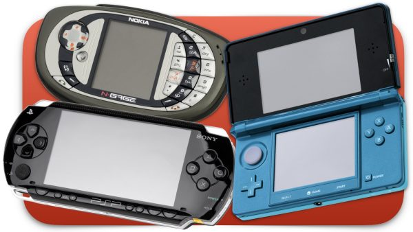 Nokia N-Gage, PlayStation Portable, Nintendo 3DS