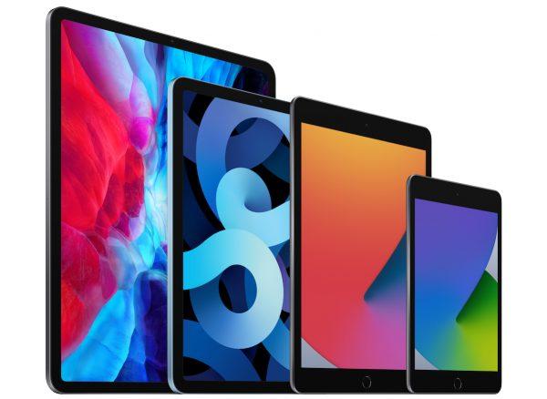"""""""Família iPad"""": iPad Pro, iPad Air, iPad, iPad Mini"""
