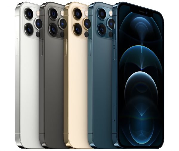 iPhone 12 Pro ou Pro Max em todas as cores