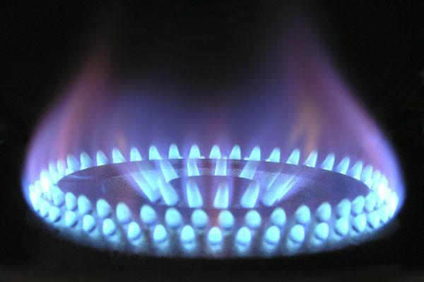 Queimador de um fogão a gás