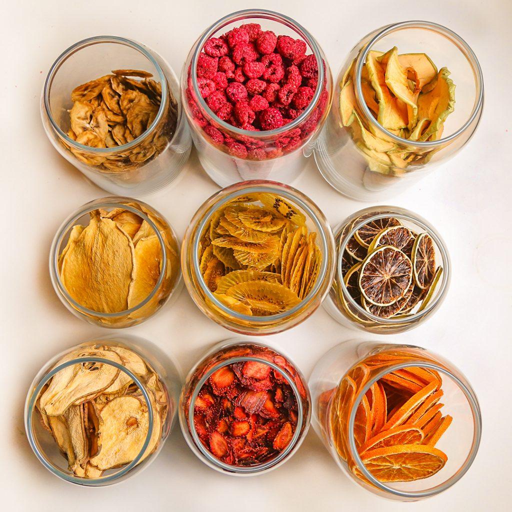 Como desidratar frutas, legumes e outros alimentos