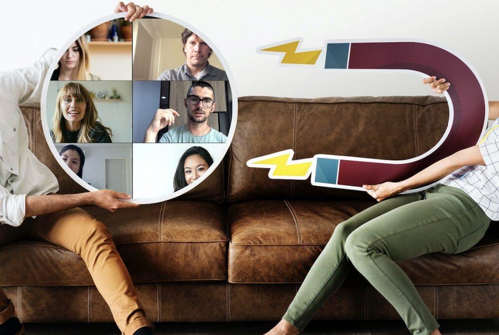 Ideias criativas para manter o contacto em confinamento