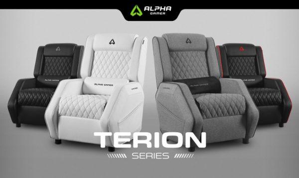 Alpha Gamer Terion: o sofá que um verdadeiro gamer tem que ter