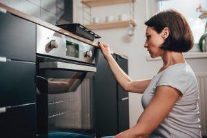 limpar o forno