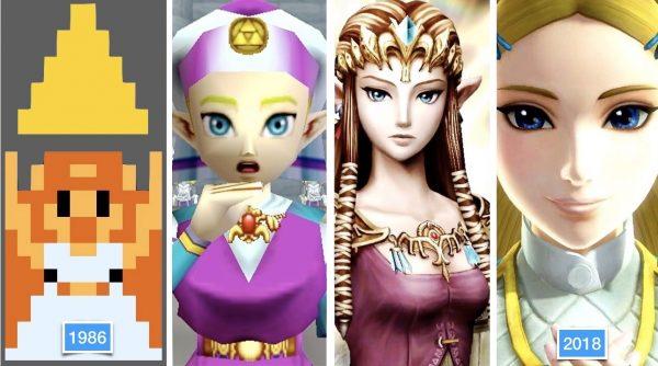 A evolução das personagens femininas nos jogos