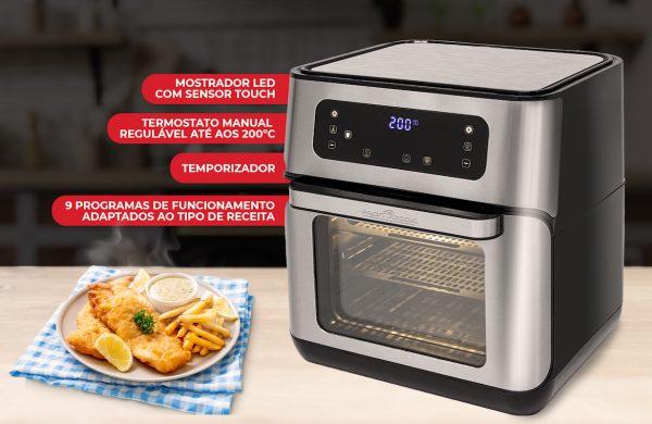 Proficook FR 1200H: mais tempo para si, fritos saudáveis para todos