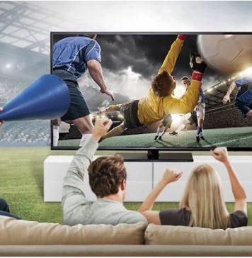 futebol no sofá