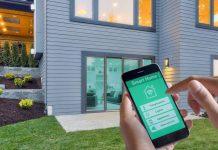 controlo smart home